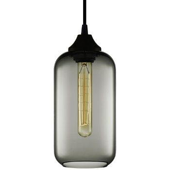 Shown in Gray, One 30 Watt ( 130 Lumens) 120 Volt E26 Medium Base Incandescent Lamp(s) (Included)