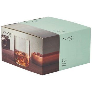 Finesse Set of 4 Whisky DOF Glasses box