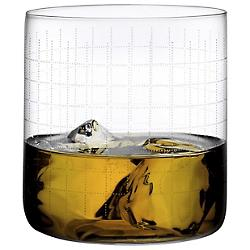 Finesse Grid Whisky Glass Set of 4