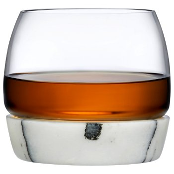 Chill Whisky Tumbler With Marble Base