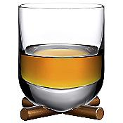 Camp Whisky SOF Glass with Brass Base