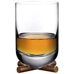 Camp Whisky DOF Glass with Brass Base