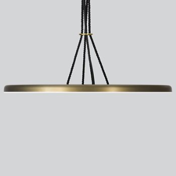 Shown in Bronze Anodize, lit