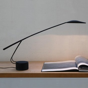 Dove Table Lamp, in use