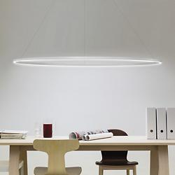 Ellisse LED Major Pendant (White/Downlight) - OPEN BOX RETURN