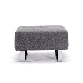 Shown in Classic Medium Grey, Chrome leg finish