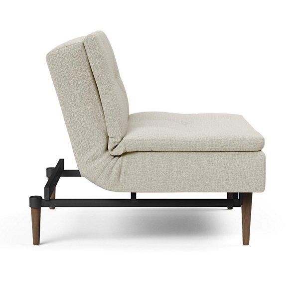 Dublexo Deluxe Chair, Dark Wood Base