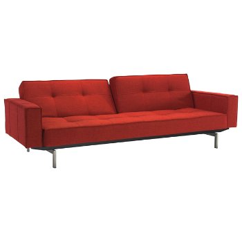 Splitback Sofa Bed With Arms By Innovation Living At Lumens Com