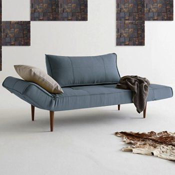 Shown in Zeal Deluxe Daybed, Mixed Dance Light Blue