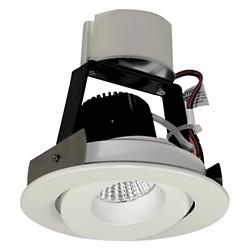 "Iolite 4"" Regressed Gimbal LED Trim"