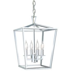Cage Pendant (Polished Nickel/Small) - OPEN BOX RETURN