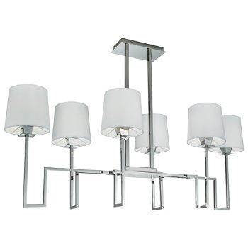 Shown in Polished Nickel finish, unlit