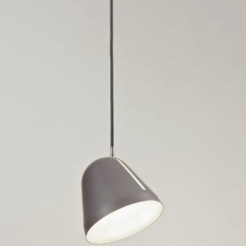 Shown in Matte Grey Finish, Small Size