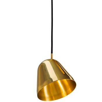 Shown in Brass Finish, Small Size
