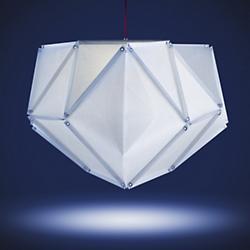 Fold Grenat LED Pendant