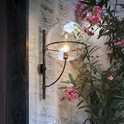Lyndon Outdoor Wall Sconce by Oluce (Large)-OPEN BOX RETURN