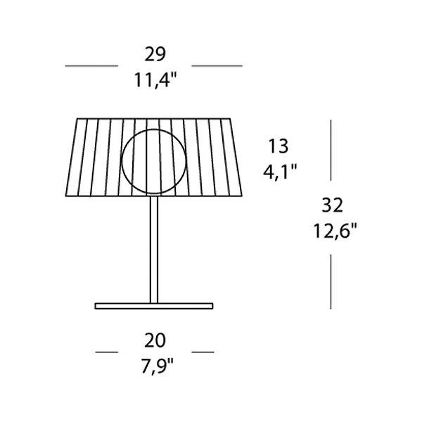 Fog Table Lamp