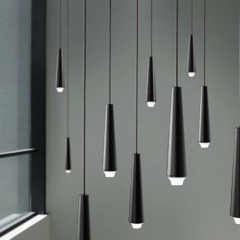 Mikado LA18 LED Chandelier, Detail view