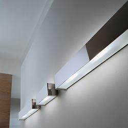 Box Wall Sconce (Brushed Steel/9 in/Incandescent) - OPEN BOX