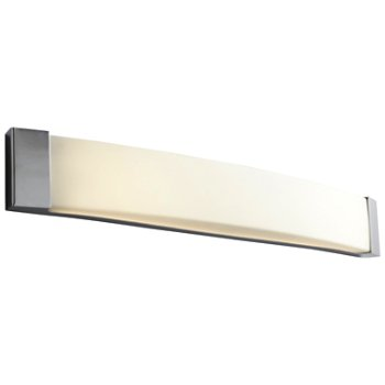 Shown in Polished Chrome finish, 36 inch