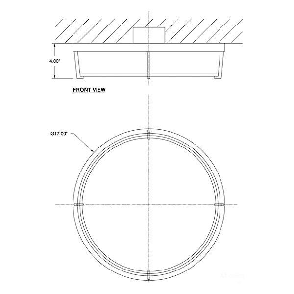 iO LED Flushmount