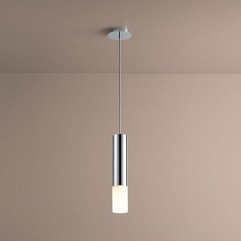 Shown in Polished Chrome finish with Opal Shade color
