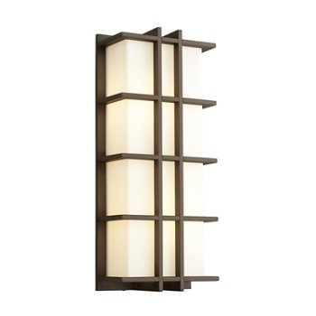 Shown in Oiled Bronze finish with Large size, lit