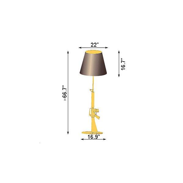 Lounge Gun Floor Lamp