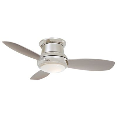 Flush mount ceiling fans hugger ceiling fans at lumens concept ii flush 44 in ceiling fan mozeypictures Gallery