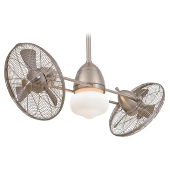 Gauguin Indoor Outdoor Ceiling Fan with Light by Minka Aire Fans