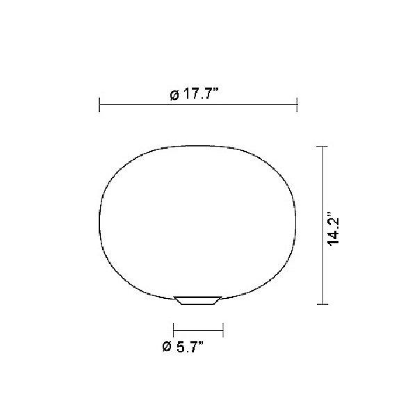 Glo-Ball Basic 2 Table Lamp