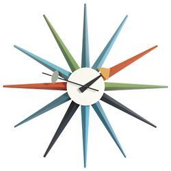 Nelson Sunburst Clock