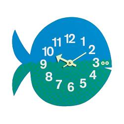 Nelson Fernando the Fish Wall Clock