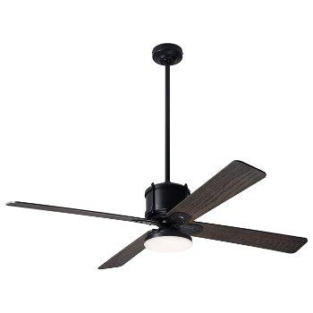 Shown in Graywash fan blade finish with Dark Bronze fan body finish, LED