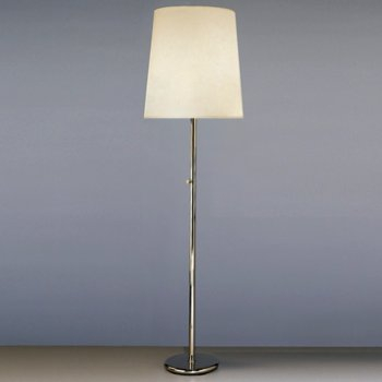Shown in Polished Nickel with White Fondine Fabric