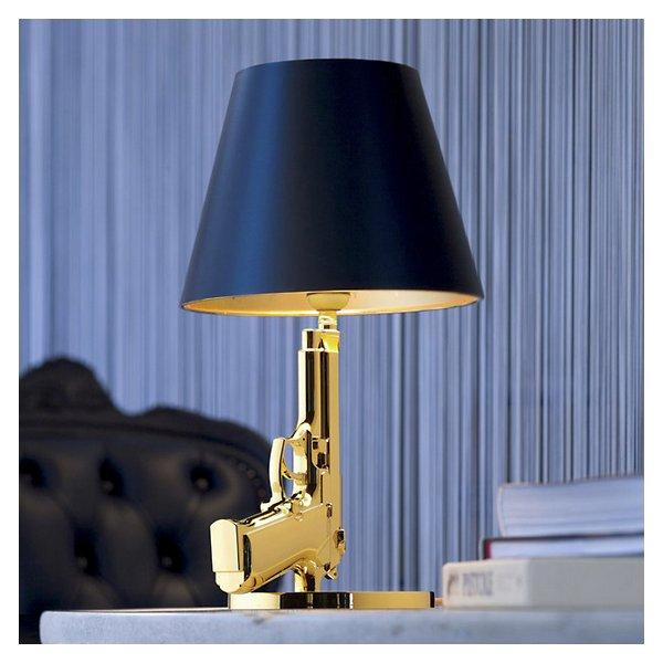 Bedside Gun Table Lamp