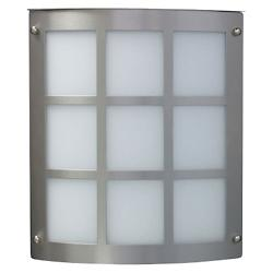 Moto Grid Indoor/Outdoor Wall Sconce