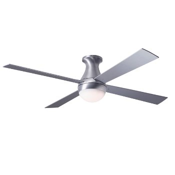 Ball flushmount ceiling fan by modern fan company at lumens ball flushmount ceiling fan mozeypictures Gallery
