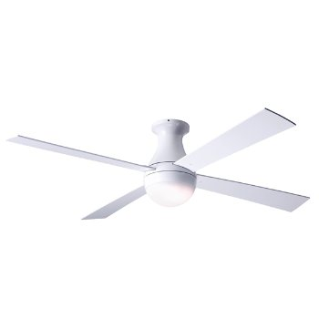 Shown in Gloss White finish and White blades