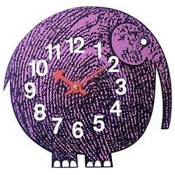 Nelson Elihu the Elephant Wall Clock