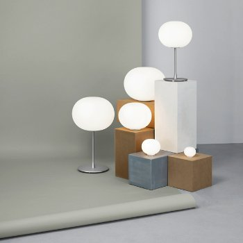 Glo-Ball Basic 1 Table Lamp with Glo-Ball T2 Table Lamp