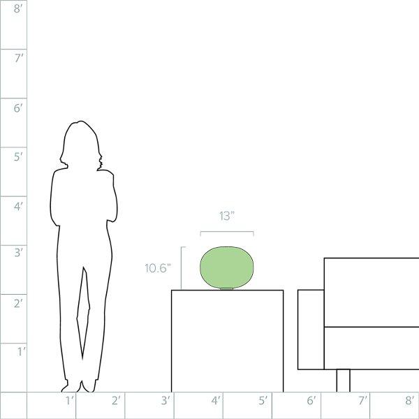 Glo-Ball Basic 1 Table Lamp