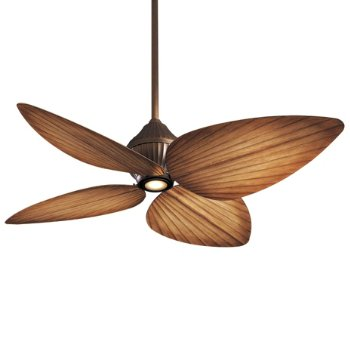 Shown in Oil Rubbed Bronze with Bahama Beige blade
