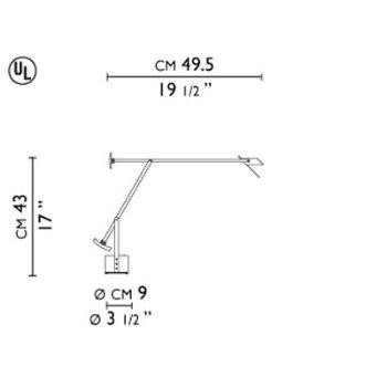 Tizio Micro Task Lamp By Artemide At Lumens Com