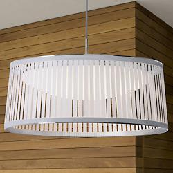 Solis LED Drum Pendant : drum chandelier lighting - azcodes.com