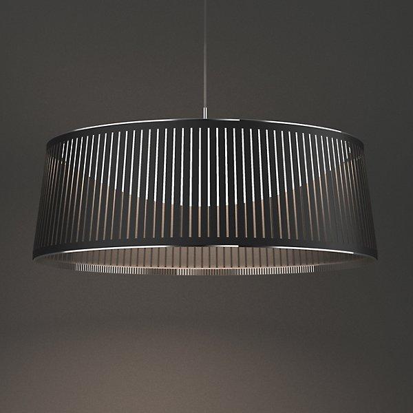Solis LED Drum Pendant