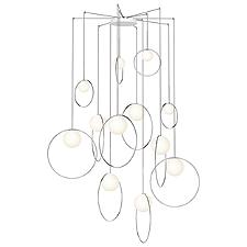 Bola Halo 12-Light Multi-Light Pendant