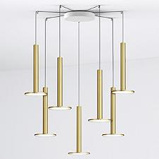 Pablo Lighting Cielo XL Multi-Light Pendant Light with Large Canopy