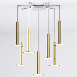 Cielo XL Multi-Light Pendant with Large Canopy
