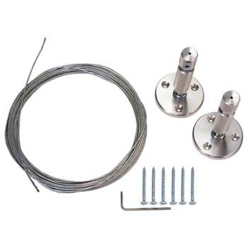 Horizontal mounting kit (sold separately)